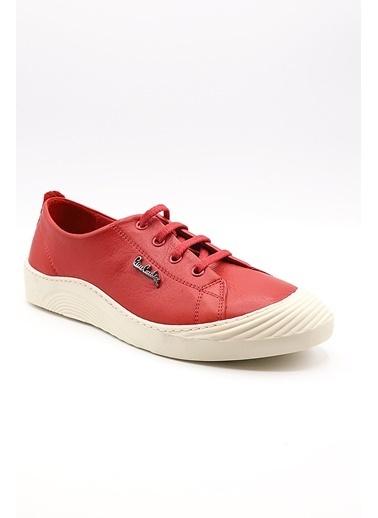 La scada Pıerre Cardın Pc-50262 Kırmızı Kadın Casual Ayakkabı Kırmızı